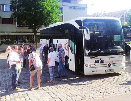 Besuch in Partnerstadt Thun 2015